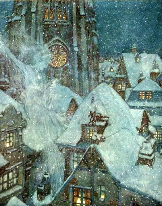 Hans Christian Andersen - The Snow Queen (illustration - Edmund Dulac)
