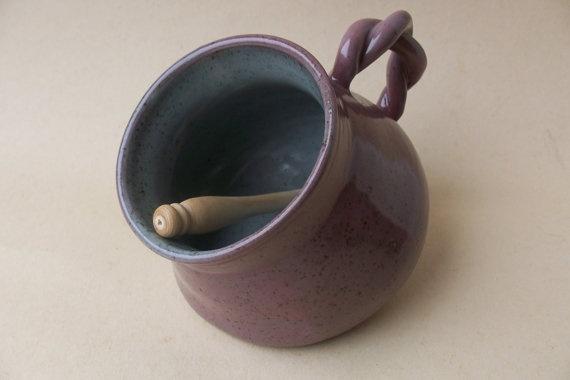 Stoneware Salt pig keeper salt storage with by davegreenceramics, £10.95