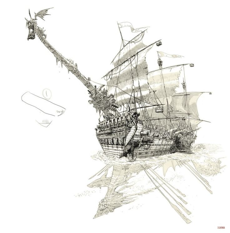 32 Best How To Draw Ships Images On Pinterest Party