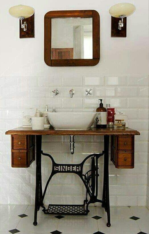 Bathroom sink idea