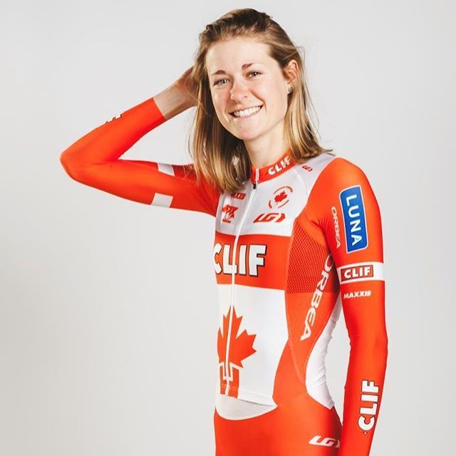 Cross is here! Canadian National Champion, Maghalie Rochette (of @clifproteam) will be kicking the season off today and Sunday in Iowa, at the @jinglecross & UCI World Cup, wearing her national champion kit! Go @maghroch, go! #crossishere #candianchampion #Canada150 #LiveYourDream #GarneauCustom #cyclocross #jinglecross #uci #ucicyclocross #ucicycling #girlswhoride #womenscycling #cxseason #cxracing #cxrace #cyclinggear #customapparel #clifproteam