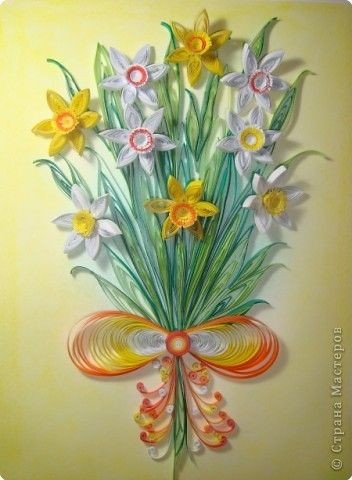 Daffodils (Site is in Russian, but there are pictures of the individual parts)