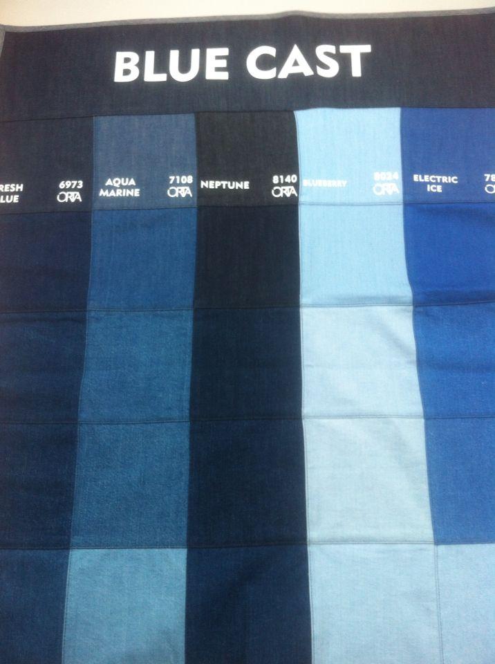 Orta denim colours Blue cast