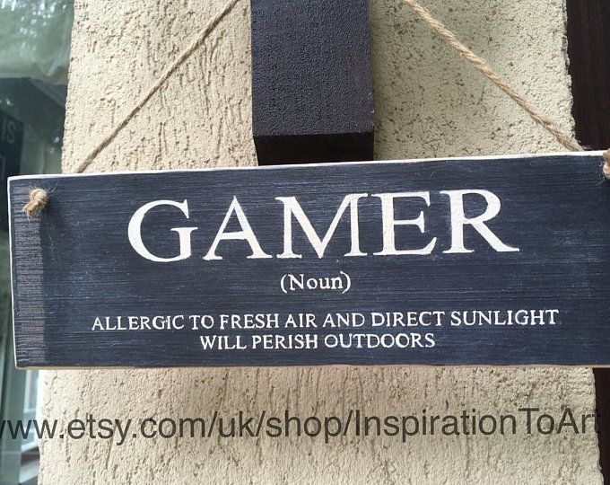 Gaming Sign Gift for Men Boys Brother Son Gift Mens Gift Teen Boys Gift Funny Gift I Went Outside Once But The Graphics Weren't Great