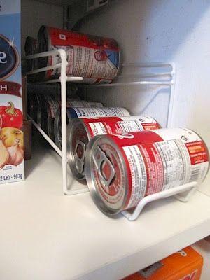 Sew Many Ways...: Organized Food Pantry...From a Coat Closet