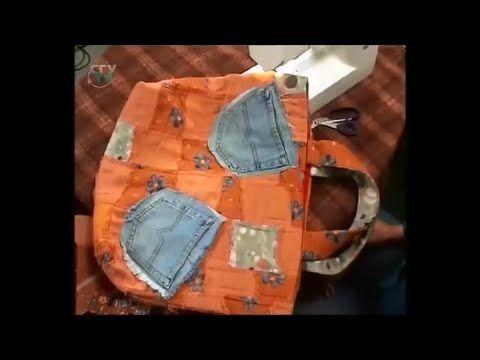 Шьем из джинсовой ткани удобные сумки и модные аксессуары. Мастер класс....