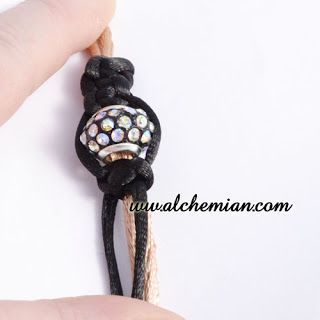 Alchemian Blog: DIY Craft Tutorial //Nodo piatto macramè