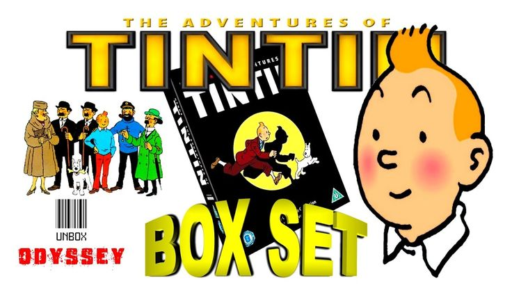 Tintin - 5 disc complete collection