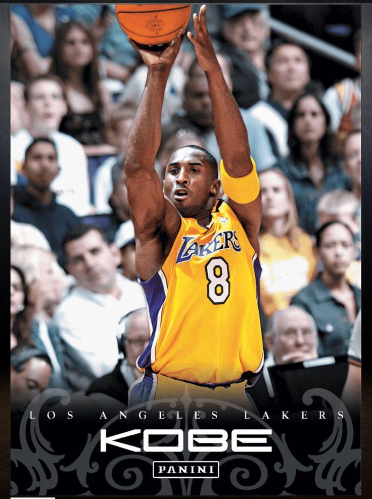 Kobe Bryant Los Angeles Lakers #77 Kobe Anthology Card 2015-2016 Panini Dunk