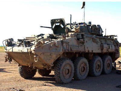 Canadian Forces LAV III  #T3cz #TickerCZ