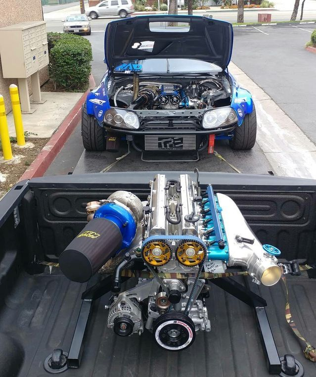 HOLY SH!T THAT'S A BIG 2JZ! | cars and car jokes | Cars, Tuner cars