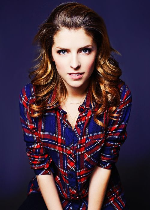 Anna Kendrick portrait for 'Happy Christmas' at Sundance 2014
