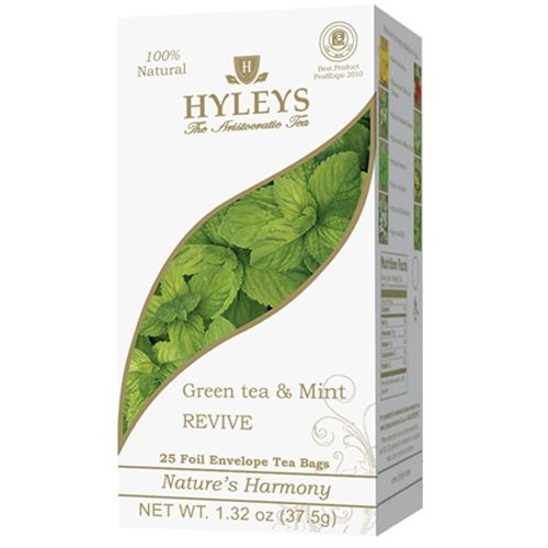 Nature's Harmony – Green Tea and Mint – Bags