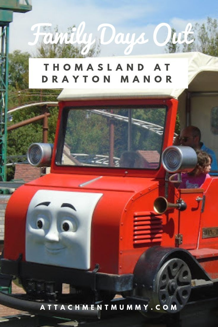 Family Days Out In The West Midlands Thomas Land At Drayton Manor Staffordshire In 2020 Days Out With Kids Family Days Out Family Day