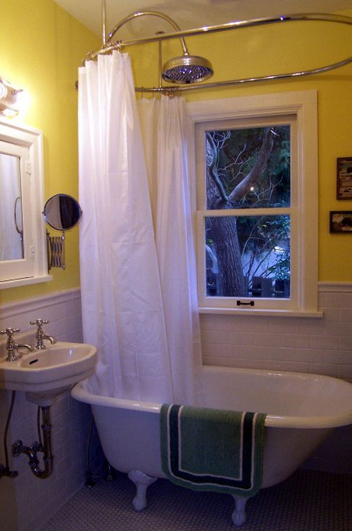 Vintage Shower Curtain Ideas 1920s Bathroom Vintage