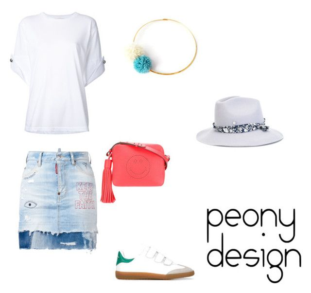 Peony Design by teri-peony on Polyvore featuring Monse, Dsquared2, Étoile Isabel Marant, Anya Hindmarch and Maison Michel