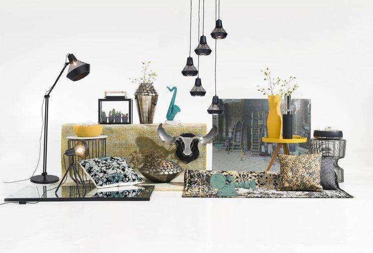 Coco Maison, the beautiful decoration brand.  #Xooon #accessoires #interior #lampen #bijzettafel #schilderij #kussens