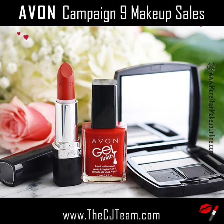 Avon Campaign 9 Makeup Sales, going on NOW through 4/12/17.   Starting @ reg. $6. Shop online with FREE shipping with any $40 online Avon purchase. Avon Reps  Chris & Judy  #Avon #Makeup #Sale #CJTeam #BOGO #TrueColor #Makeup #Cosmetics #Avon4Me #C9 Shop Avon Online @ www.TheCJTeam.com