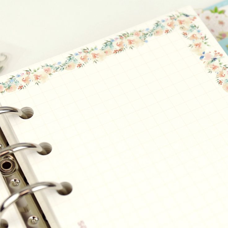 Aliexpress.com : Buy Jamie notes creative spiral notebook filler papers for dokibook planner inside page inner core daily organizer agenda stationery from Reliable filler paper suppliers on NOTEBOOKS