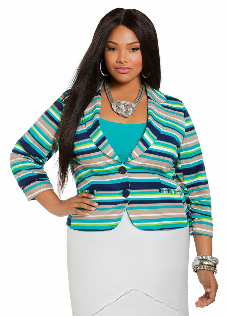 Plus Size Blazer - Ashley Stewart