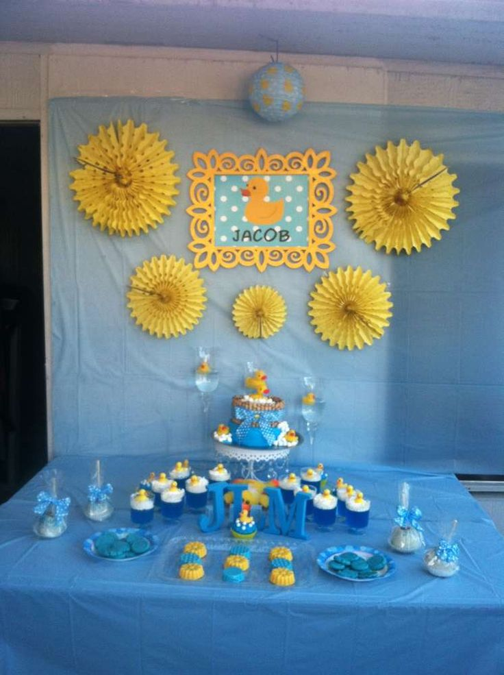 Rubber Duckies Baby Shower Party Ideas   Photo 7 of 14   Catch My Party