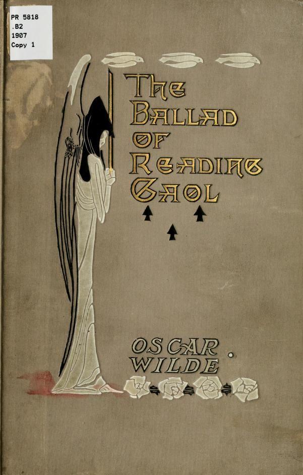 The Ballad Of Reading Gaol By Oscar