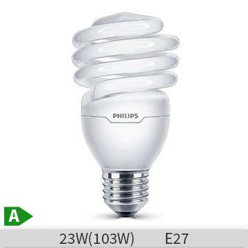 Bec economic spirala Philips Economy Twister 23W, E27, 6000 ore, lumina rece