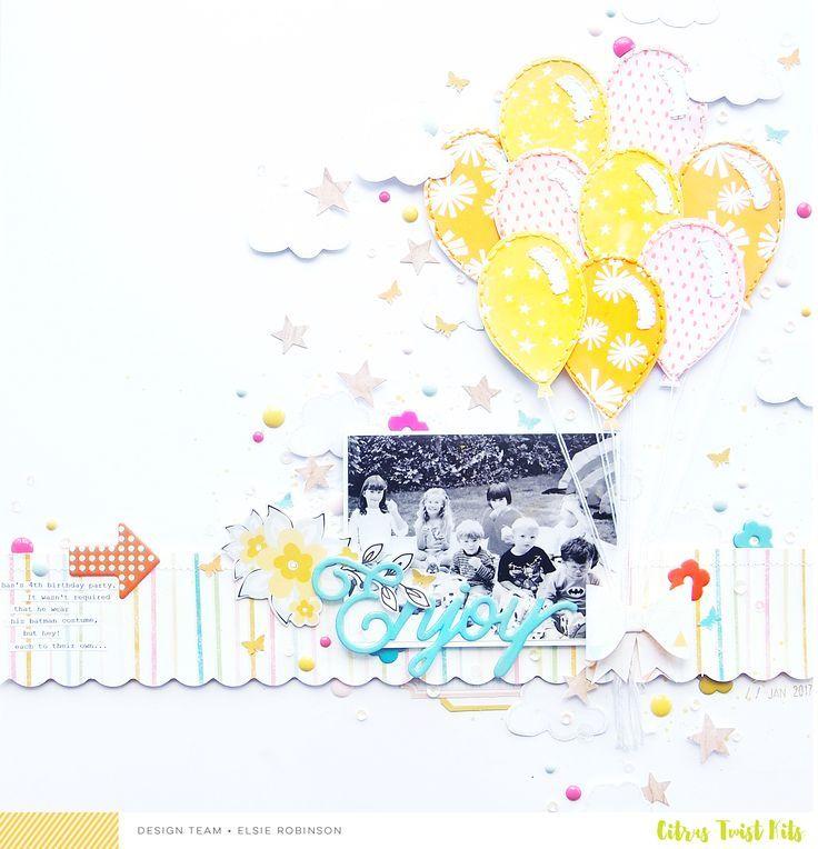 12X12 Scrapbook Layouts | Scrapbooking Ideas | Creative Scrapbooker Magazine #scrapbooking