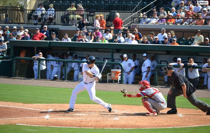 The Detroit Tigers announced the club's exhibition game schedule for 2015 Spring Training in Lakeland, Florida.