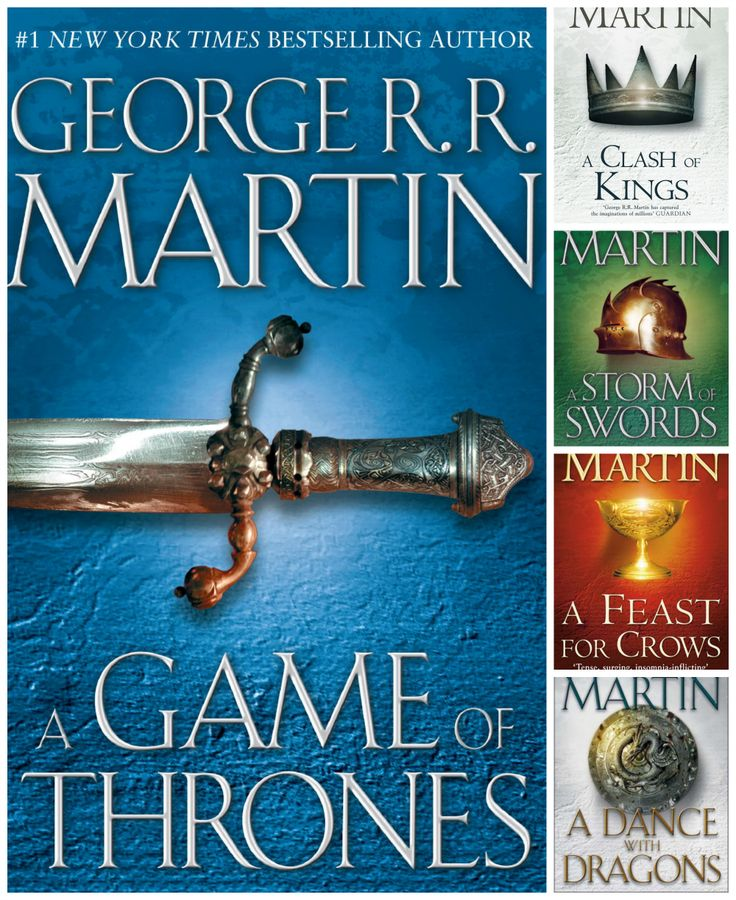 Game of thrones книгу