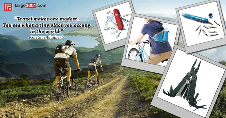 Traveling will be much easier with quality travel and outdoor accessories from Fargo2001.com ! http://fargo2001.com/sports-165/travel-amp-outdoor-activities-188