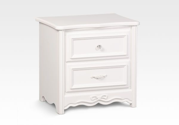 Disney Princess Enchanted Night Stand White Ambiance By