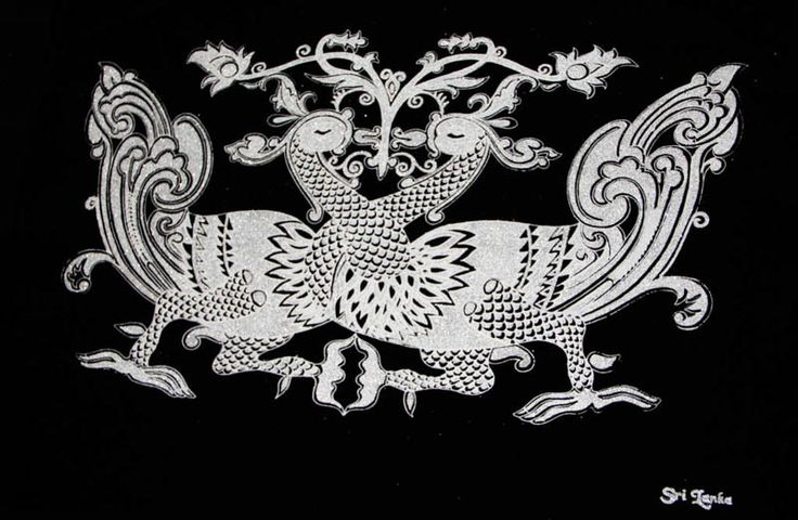 CeyPearl.com - Hansa Puttuwa -  Decorative motif of twin swans - Silver, $41.38 (http://www.ceypearl.com/hansa-puttuwa-decorative-motif-of-twin-swans-silver/)