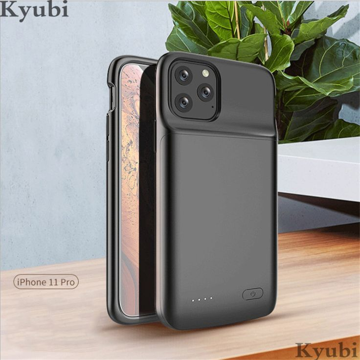 5000mah soft external battery charger case for iphone 11