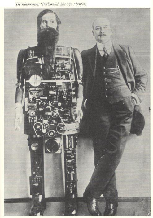 "The robot ""Barbarossa"""