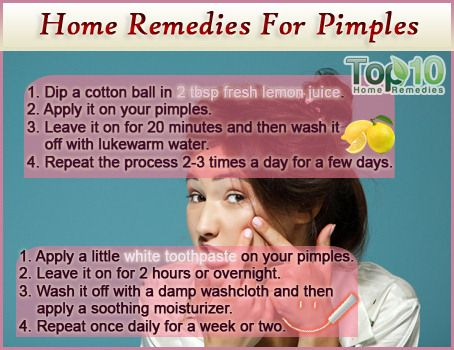 Home Remedies for Pimples  http://www.top10homeremedies.com/home-remedies/home-remedies-pimples.html