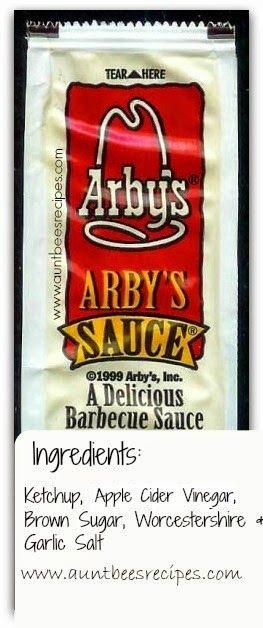 Aunt Bee's Recipes: 5 Ingredient Arby's Sauce COPYCAT