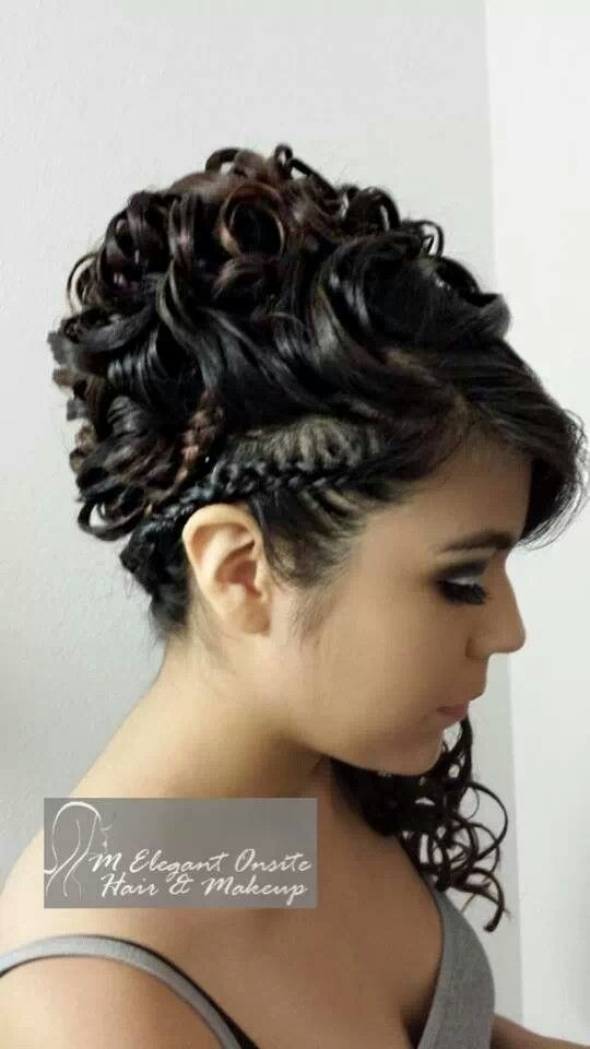 Mc4 Hair Quinceanera Style Done By Monica Find Us At Www