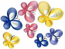 Paper quilling.. great to get those fingers moving!