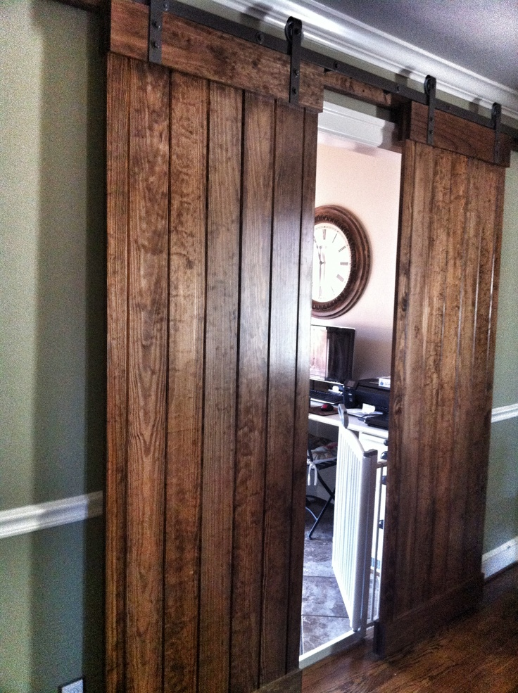 barn doors for dining room projects pinterest