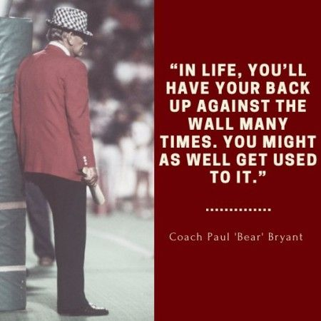 "The legacy of legendary college football coach Paul ""Bear"" Bryant endures long after his death on January 26, 1983. Here are a few sharable quotes on winning, life, leadership, Alabama, mamas and more."