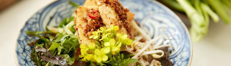 Vermicelles de tofu aux légumes par Kim Thuy - di Stasio - Téléquébec
