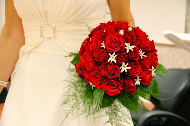 Red bouquet!