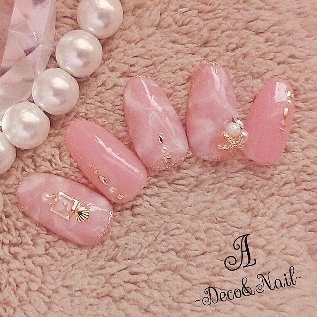 pink nail arw