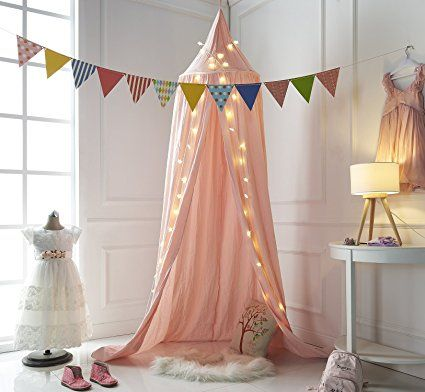 Truedays Baldaquin Ciels De Lit Moustiquaire Rideau De Lit Tente De Jeu  Pour Bébé Enfant Accessoires