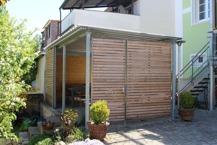 68 besten garten sitzplatz carport bilder auf pinterest. Black Bedroom Furniture Sets. Home Design Ideas