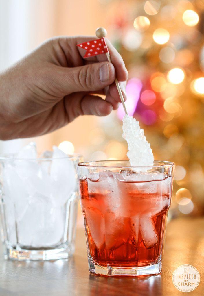 Cherry Vodka Sparkler #cocktail #drinkrecipe