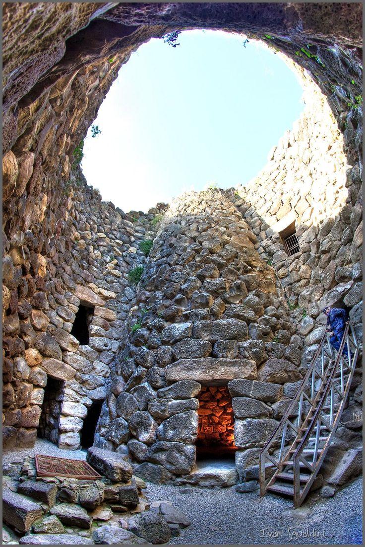 Su Nuraxi is a nuragic archaeological site in Barumini, Marmilla, Sardinia, Italy | #BnBGenius #lifeisajourney