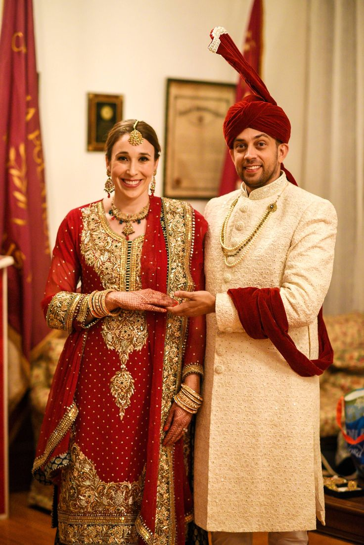 Pakistani Bridal Portraiture with traditional Turban and gold laced jewelry