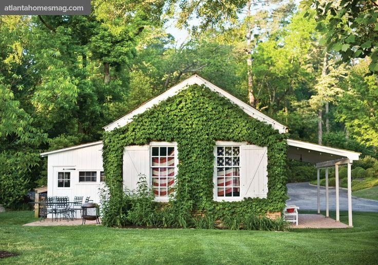 Perfect Way To Cover An Unsightly Facade Garden Ideas